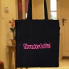 Personalised Bags Cotton Tote Bag - Black