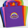 Rainbow Personalised Kids Bag Toys Arts Crafts Mini Tote