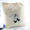 Personalised Shoe Bag Tap Dance Shoes Embroidered