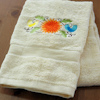 Chrysanthemum and Birds Towel Gift
