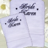 Bridal Towel Set Wedding Towels Bath and Hand Set