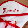 Baby Towel Personalised Christmas Hooded Towel