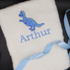 Personalised Dinosaur Bath Towel