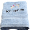 Swim Towel Personalised Dolphins Towel