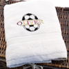 Childs Football Towel Footy Club Colours Named Towel