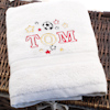 Kids Football Stars Towel Personalised Childs Towel