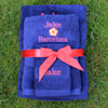 Football Club 3pc Towel Set