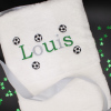 Personalised Little Footballs Towel