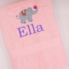 Kids Bath Towel Personalised Towel Choice of Motif