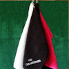 Black Golfing Towel
