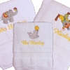 Kids Personalised Towel Childs Name Bath Towel