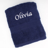 Navy Blue Hand Towel