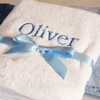 Personalised Towel White Bath Towel