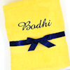 Yellow Luxury Cotton Towel