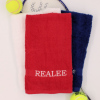 Red Sports Hand Towel