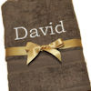 Brown Bath Towel Gift