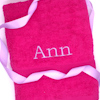 Hot Pink Bath Towel