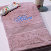 Personalised Towel Dusky Pink Hand Towel