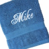Electric Blue Towel
