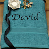 Teal XL Cotton Towel