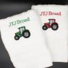 Tractor Towel Personalised Hand Towel