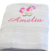 Unicorn Towel Personalised Kids Bath Towel