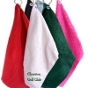 White Personalised Golfers Towel