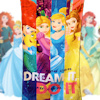 Princess Towel Disney Princess Beach Towel
