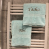Personalised Bath Towels Peppermint Towel Set