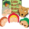 Dress Up Masks Little Red Riding Hood Play Masks