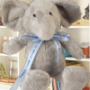 Printed Blue Ribbon Elephant