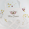 Personalised Brides Apron Wedding Rings Bridal Apron