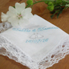 Bells Personalised Ladies Lace Hanky