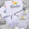 Bride and Groom Wedding Ducks Hand Towels Set
