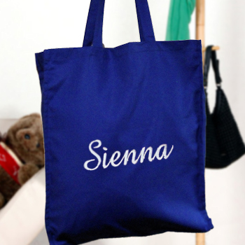Personalised Embroidered Bag