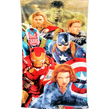 Marvel Avengers Towel Marvel Heros Beach Towel