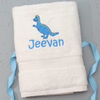 Childrens Bath Towel Personalised Kids Towel