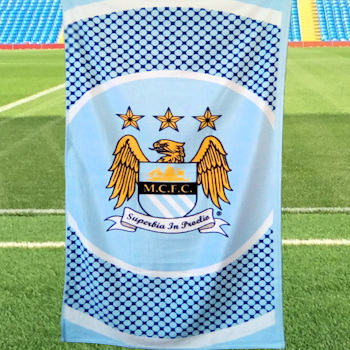 Manchester City Towel Manchester City Beach Towel