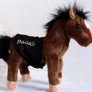 Personalised Horse Personalised Pony Cuddly Toy