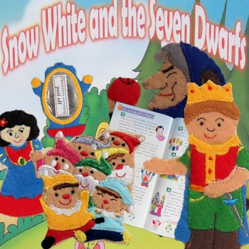 Finger Puppets - Snow White and Seven Dwarfs
