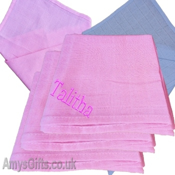 Pink Cotton Muslin Set