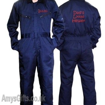 Coveralls Navy 4-5 yrs