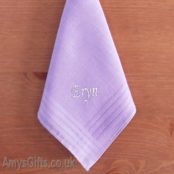 Light Purple Cotton Hanky