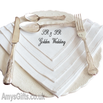 Message Embroidered Napkin