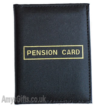 Leather Pension Card Wallet