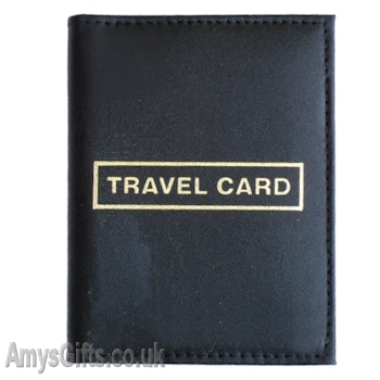 Leather Travel Card Bus Pass Holder