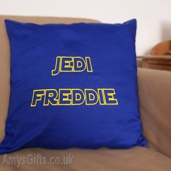 Star Wars Jedi Style Embroidered Cushion
