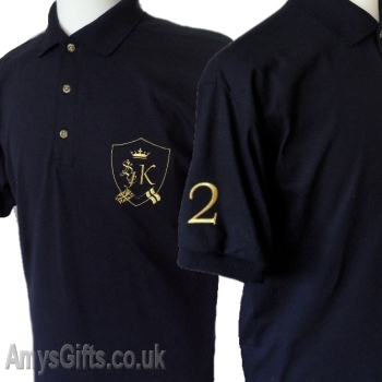 Polo shirt custom embroidered shirt for Personalised embroidered polo shirts