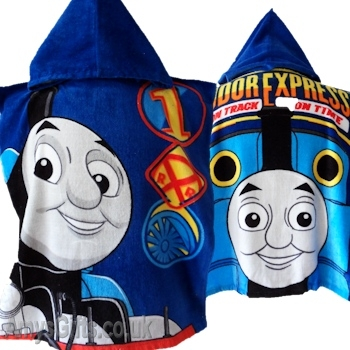 Thomas Tank Engine Towel Poncho