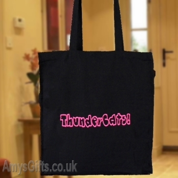 Cotton Tote Bag - Black
